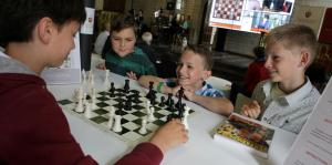 chess, students, kids
