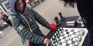 GroveFest, chess, event, booth