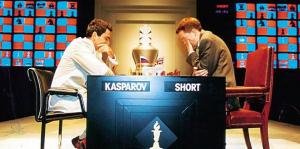garry kasparov nigel short blitz rapid chess legends match CCSCSL club scholastic center saint louis