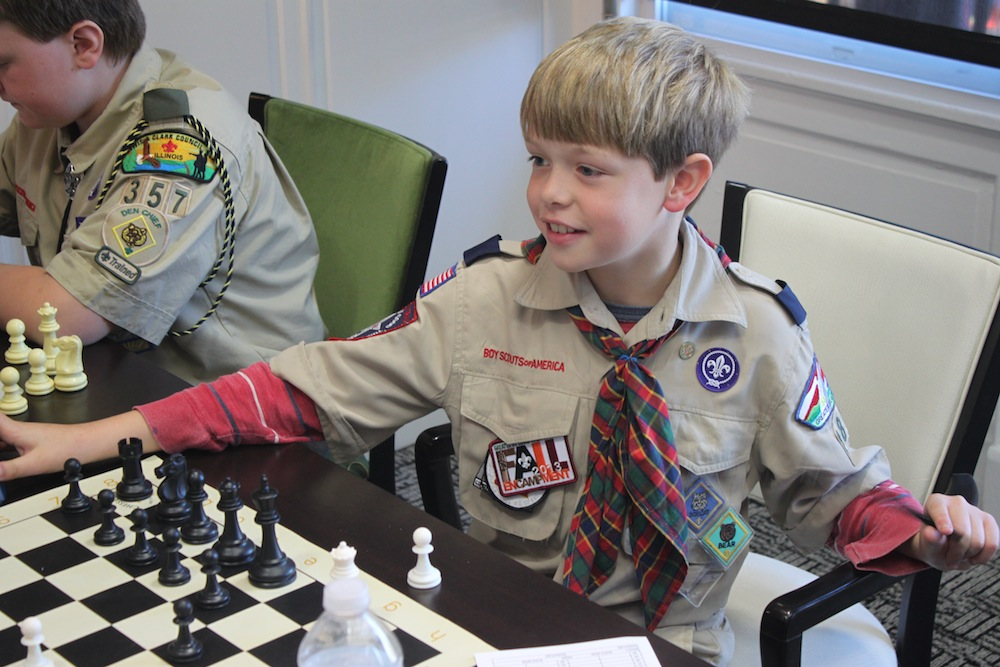boy scout chess merit badge