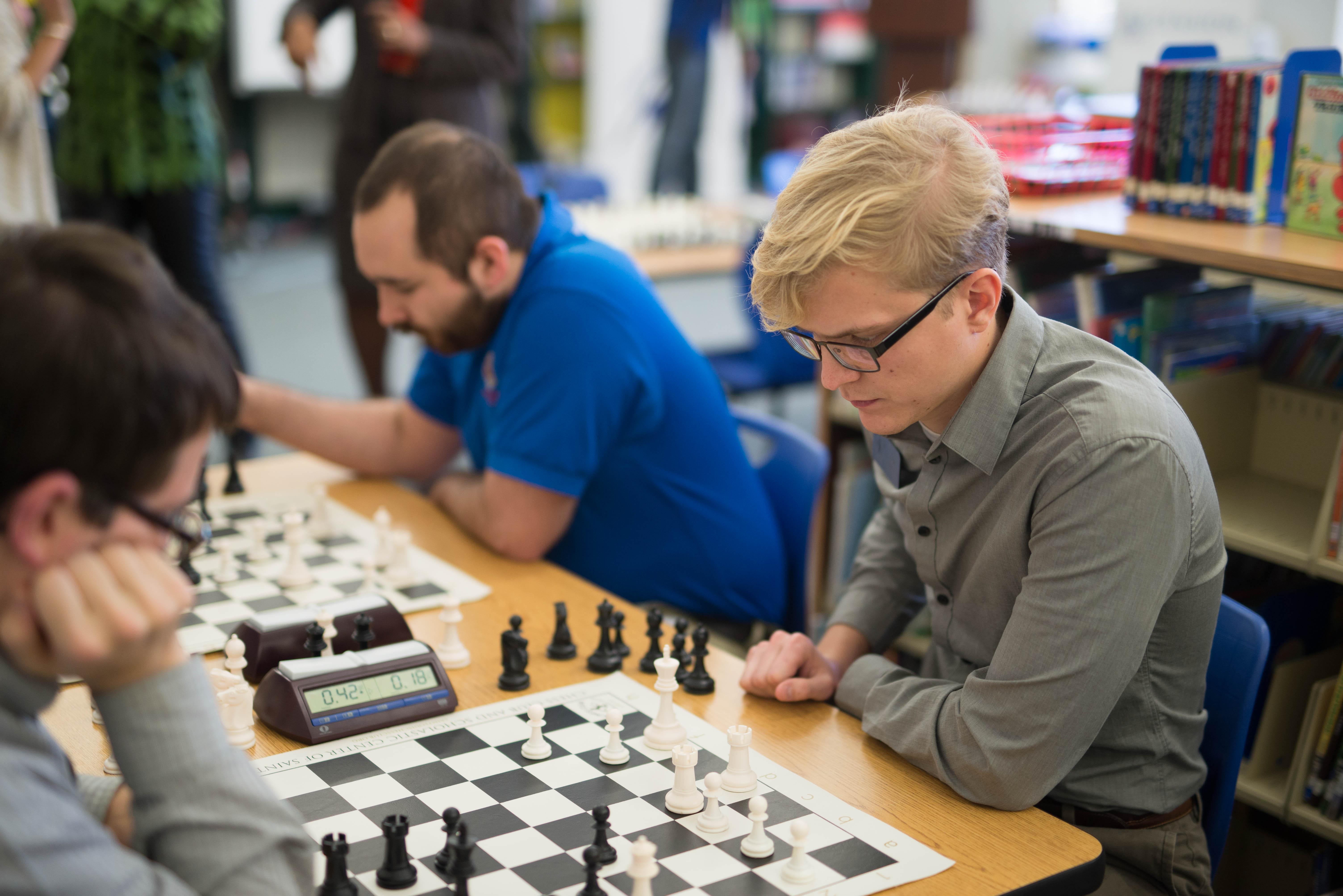 Scholastic chess programming