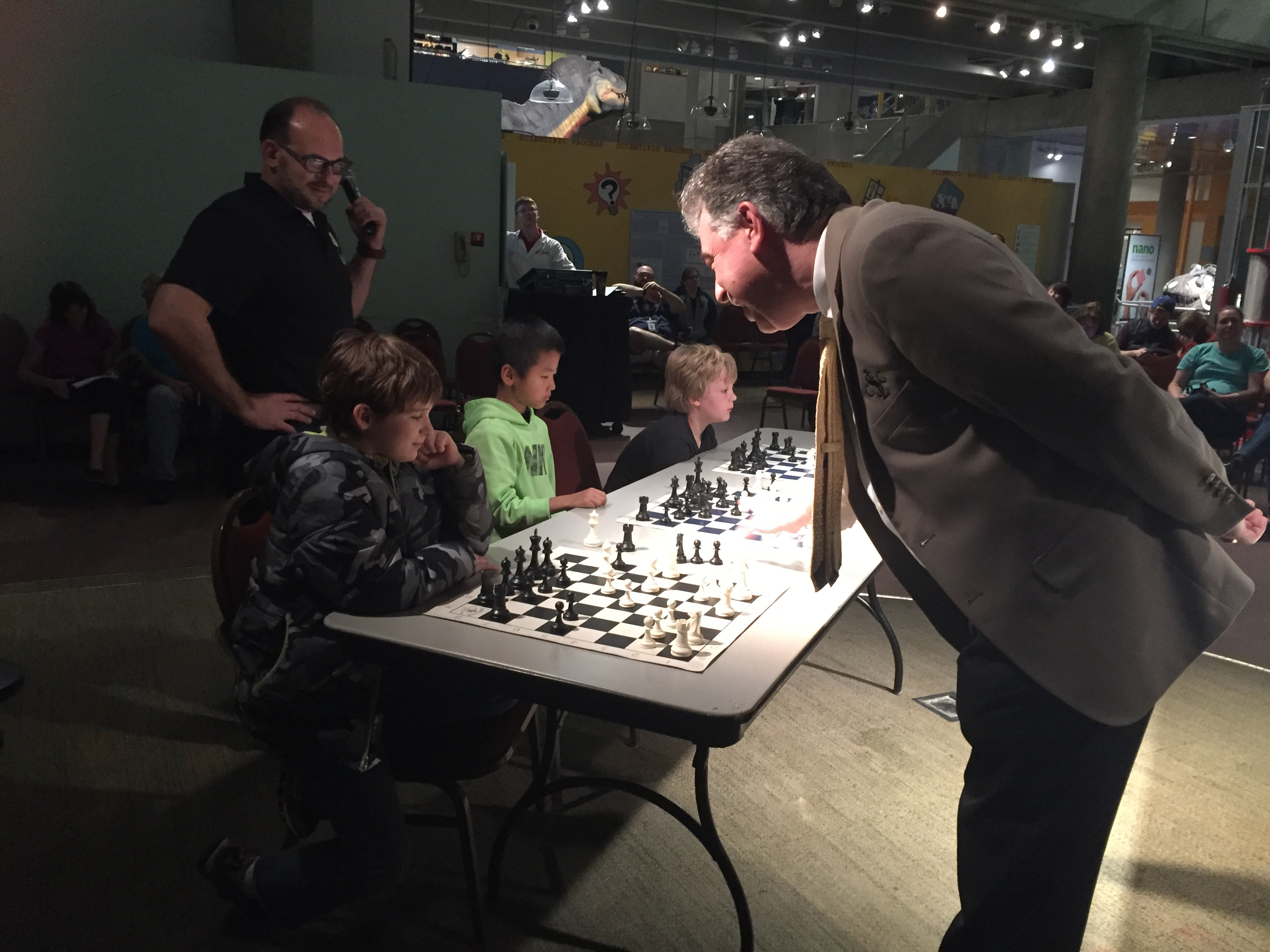 Science Center, First Fridays, Chess