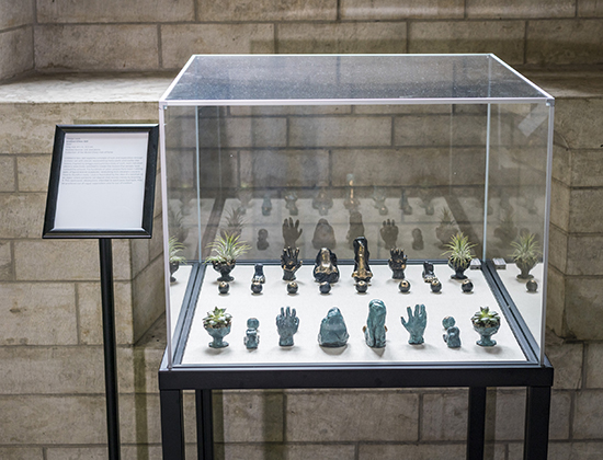 Gregg Louis, Untitled (Chess Set), 2017
