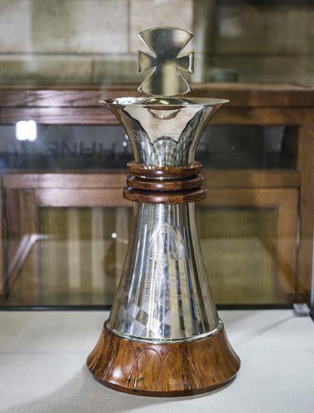 Zymo Sculpture Studio, Sinquefield Cup Trophy, 2013