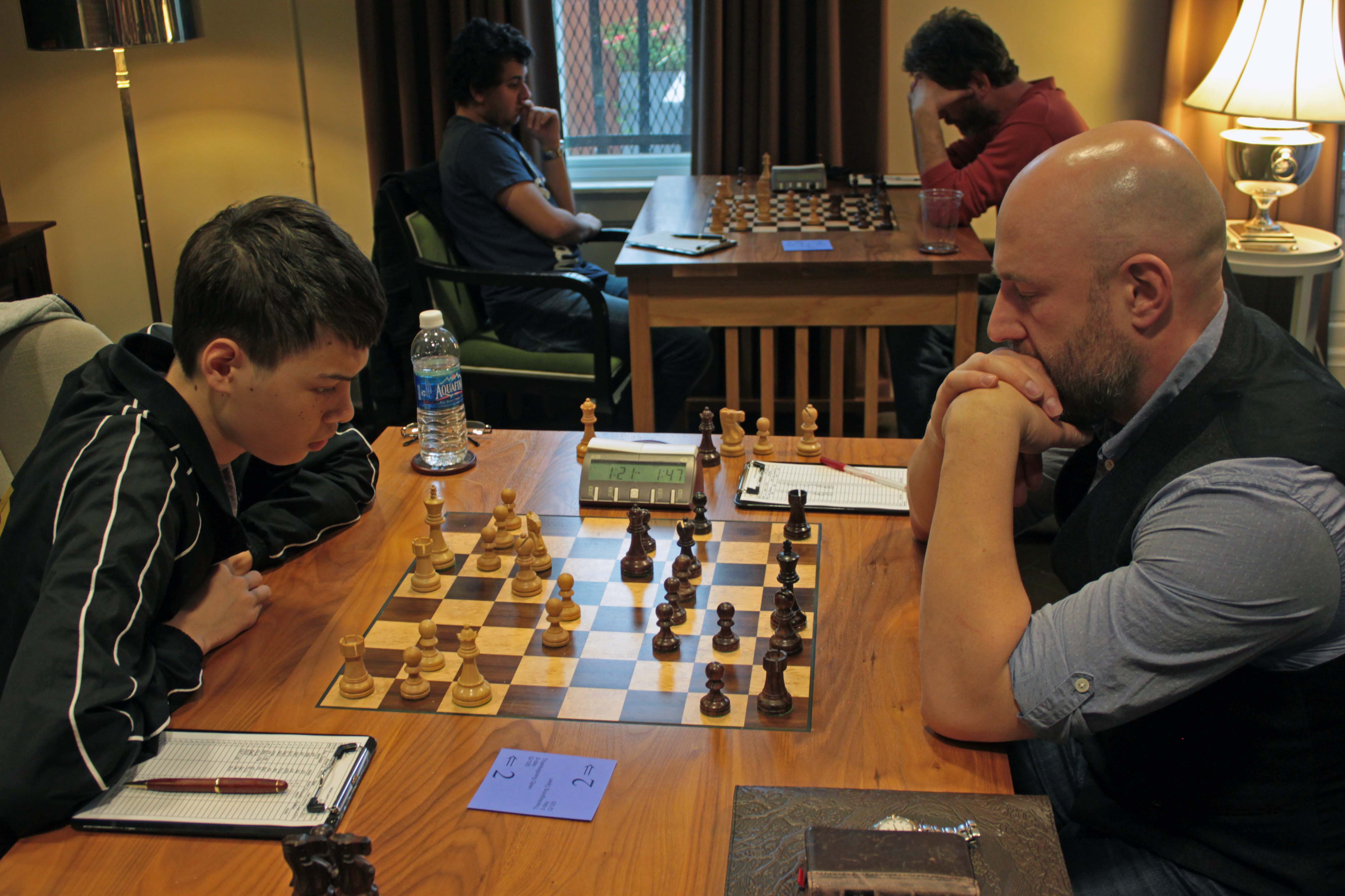GM Ray Robson vs GM Alex Shabalov
