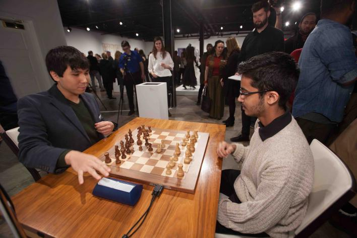 GM Wesley So and GM Akshat Chandra