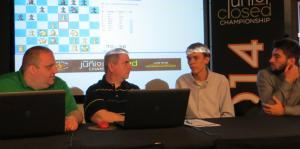 Ben Finegold and Aviv Friedman interview Matt Larson after his round 5 victory over Alex Ostrovskiy.