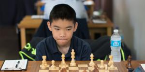 IM Jeffrey Xiong still leads the field with a score of 4.5/6, but faces his toughest test in round 7 agaisnt GM Kayden Troff.