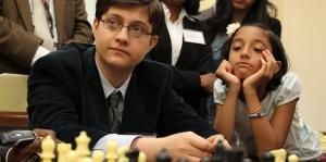 Sam Sevian is just one GM norm away from shattering the record as the youngest-ever grandmaster in U.S. history. (Paul Morigi/AP Images)